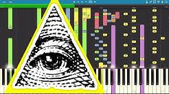 IMPOSSIBLE REMIX - The Illuminati Song - Piano Cover