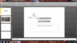 PowerPoint - Inserting and Trimming Audio thumbnail
