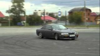Nissan Silvia Sr20de drift practice/ Yekaterinburg