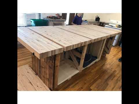 Kitchen Remodel, DIY, butcher block, countertop , Alderwood, epoxy countertop