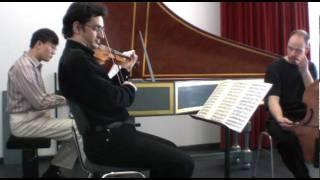 Dietrich Buxtehude-Triosonate Nr.5 in C-dur, BuxWV256, 2.Violino Solo