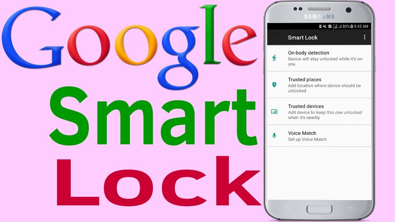 samsung s8 smart lock trusted places not working