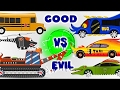 Scary Cars   Trucks   Good to Evil Transformation   Kids Videos