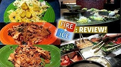 EATING AT FIRE + ICE! - Food Review #8