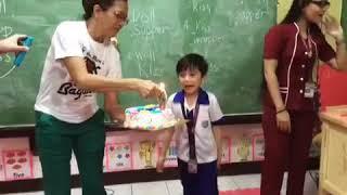 Bullet's 6th birthday @ school
