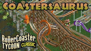 Jurassic Safari / Coastersaurus | Rollercoaster Tycoon Classic | Time Twister | Let's Play
