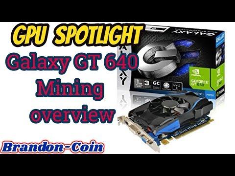 GPU Spotlight GT 640 Mining
