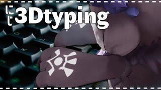 【typing】にじ3Dでまったりタイピング【でびでび・でびる/にじさんじ】