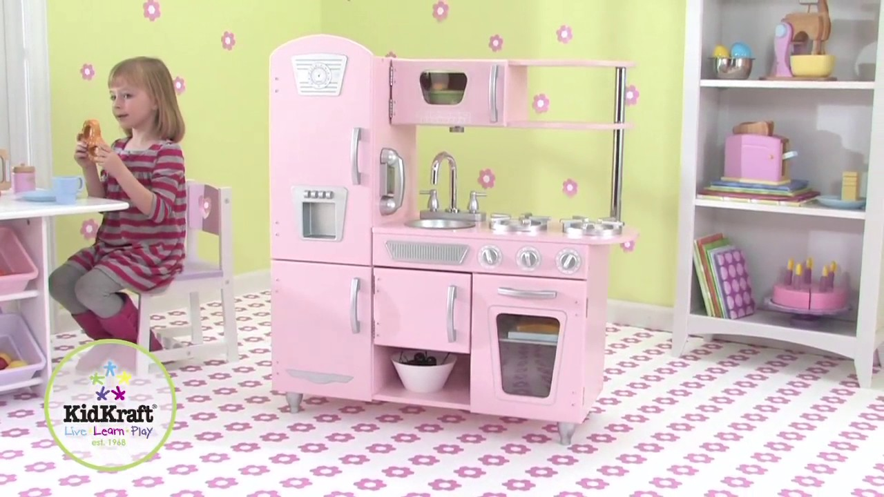 Superbe KidKraft   Pink Vintage Play Kitchen