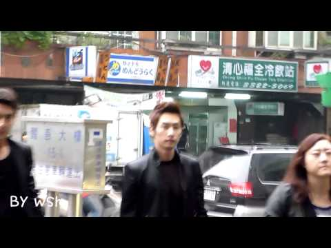 20110224 Super Junior-M go to Taiwan's radio