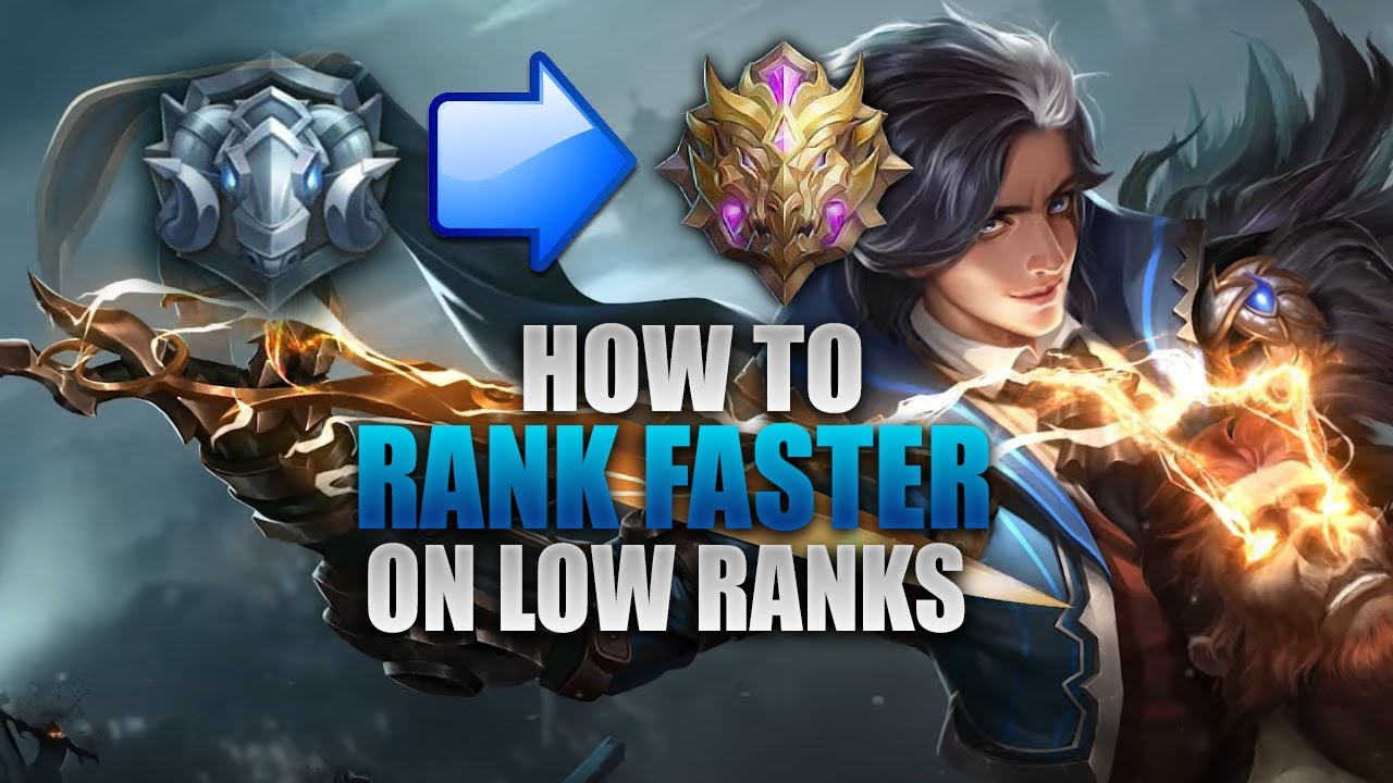 HOW TO RANK UP FASTER - MID LANE - MOBILE LEGENDS - 1000 DIAMONDS GIVEAWAY  - GAMEPLAY - GUSION