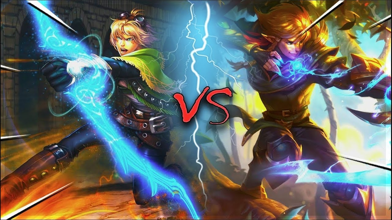 Ezreal Old Vs New Splash Arts Compared