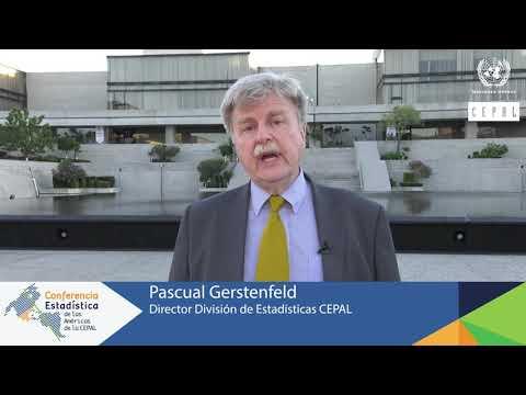 Pascual Gerstenfeld, Director División de Estadísticas, CEPAL
