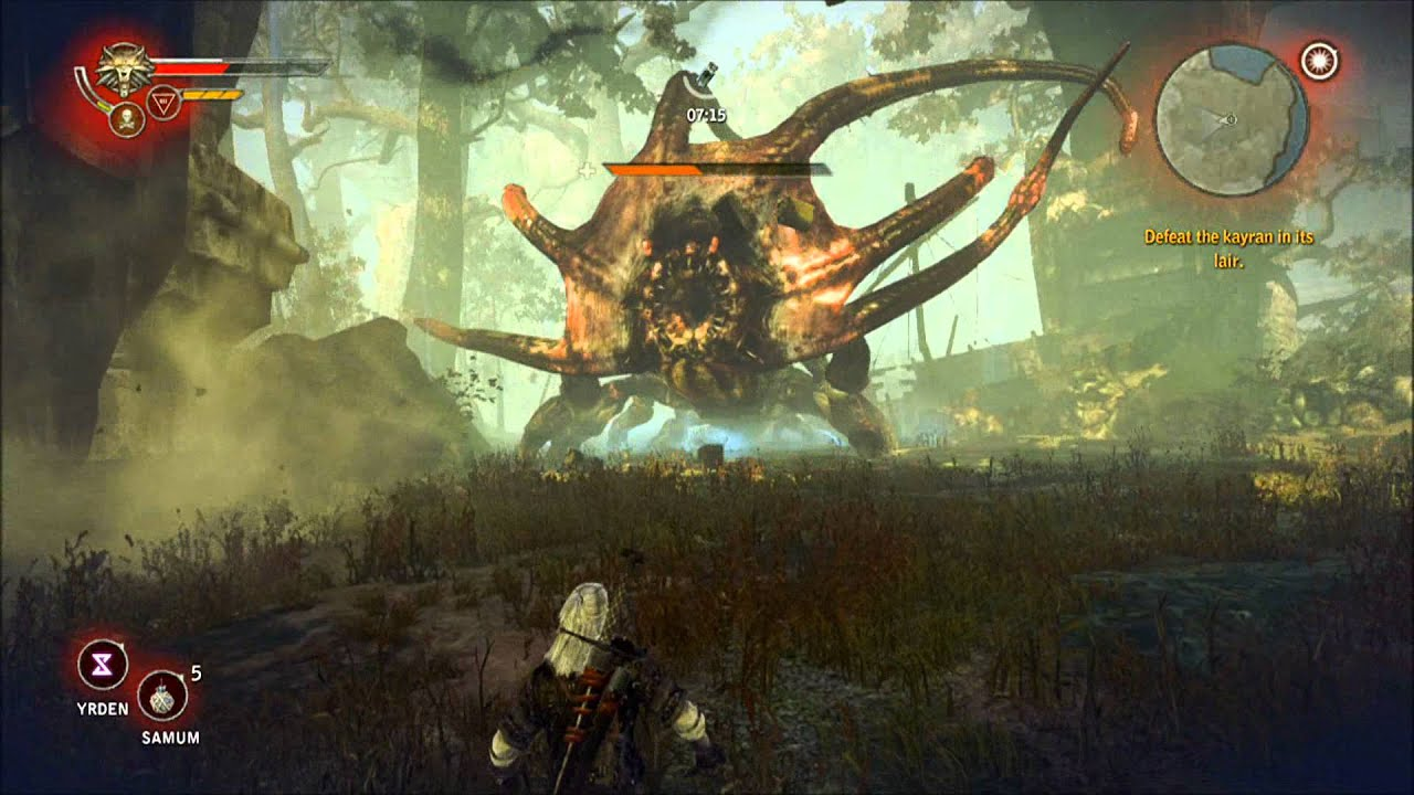 The Witcher 2 Kayran