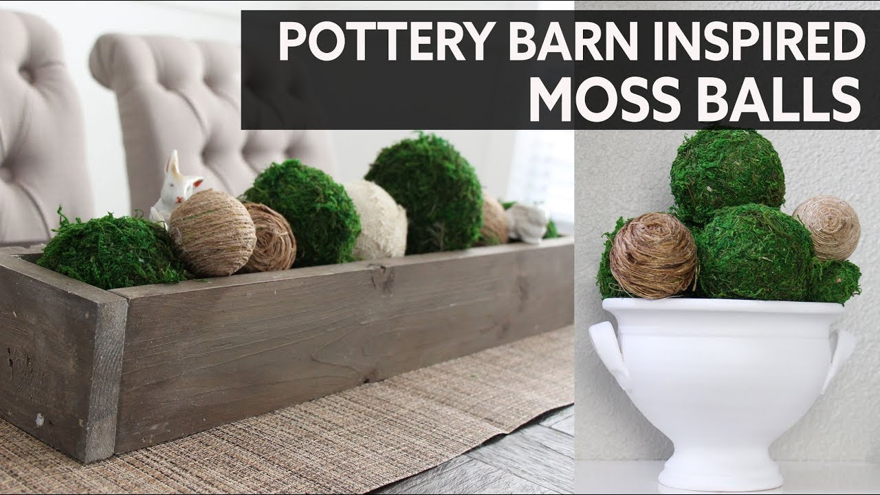 Diy Home Decor Moss Ball Bolas De Musgo