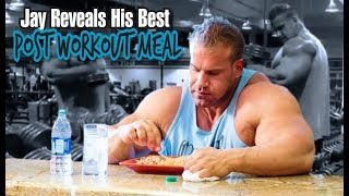 JAY CUTLER REVEALS HIS BEST POST WORKOUT MEAL.