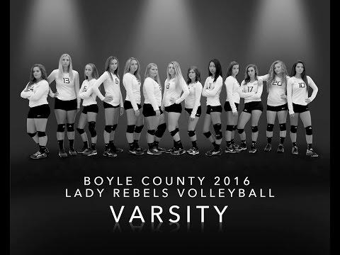 Boyle County 2016 Varsity Volleyball