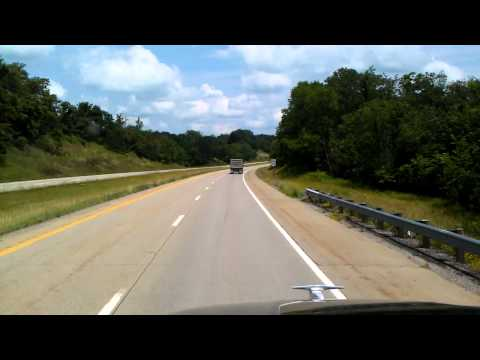 US Highway 22 East in Ohio heading towards Pennsylvania