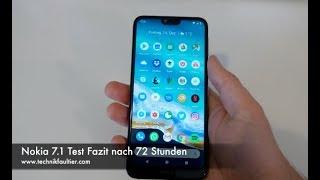Nokia 7.1 Test Fazit nach 72 Stunden