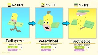 Pokémon Quest: Bellsprout Evolved Into Weepinbell / Victreebel | Pokémon Evolution Tips and Guides
