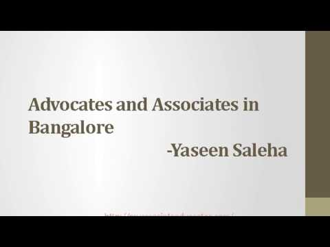 Associates and Advocates in Bangalore, 9035171200