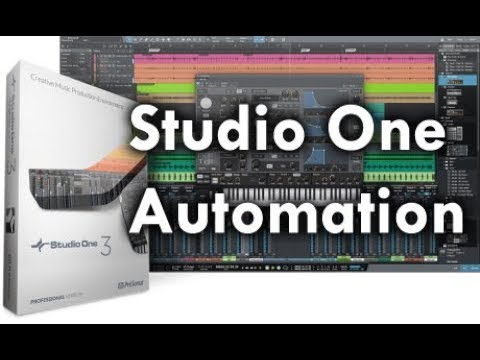 Preview: Automation in Studio One