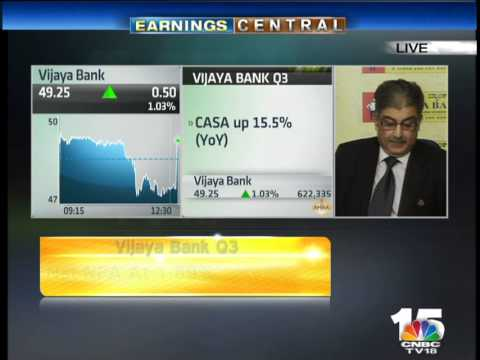 Kishore Sansi, MD & CEO, Vijaya Bank– Jan 30