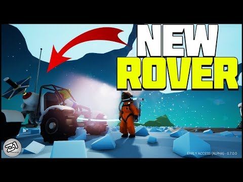 The ROVER UPDATE ! New SMALL Rover and MORE ! Astroneer Update 7.0 Episode 1 | Z1 Gaming