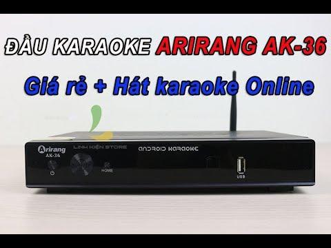 Đầu karaoke Arirang AK-36 – Đầu smart karaoke giá rẻ hát online