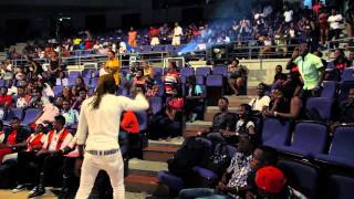 Selebobo performs live at the Cultural Centre in Calabar