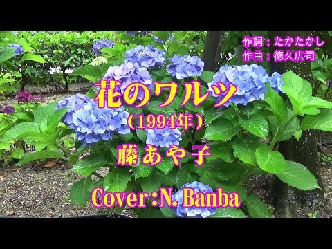 花のワルツ「♪ 藤あや子」(Cover:N.Banba)No166 歌詞テロップ付