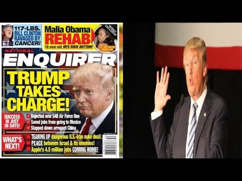 Donald Trump has been sold out by National Enquirer