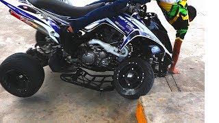 Fuerte Accidente en Raptor 700