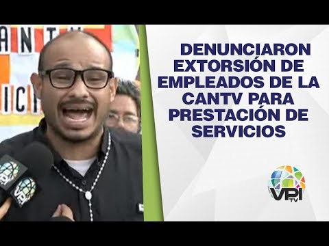 Caracas - Denunciaron Extorsión De Empleados De La Cantv Para Prestación De Servicios - VPItv