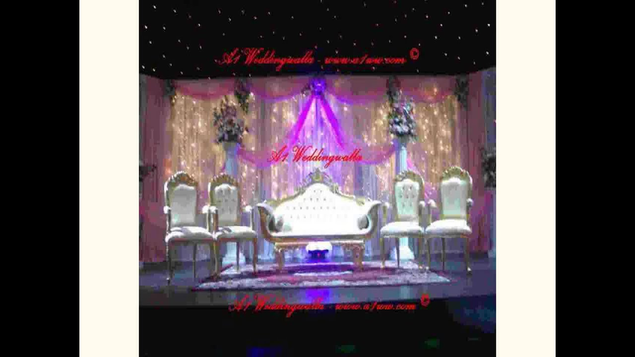 New silver wedding decoration ideas youtube for 25th wedding anniversary stage decoration