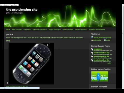 cool psp website