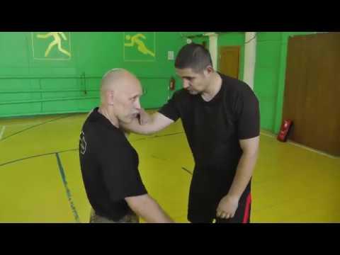 видео: Валерий Крючков. фрагмент семинара. Пресечение захватов.