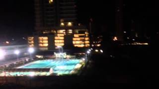 Penang Chinese Swimming Club at night...