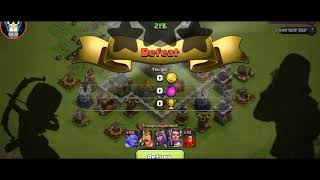 Town hall 11 attacking in clash of clans|MS GAMERS