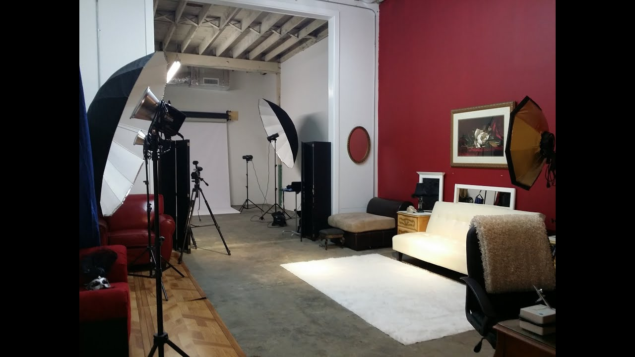 Houston Professional Photography Studio Rental   YouTube