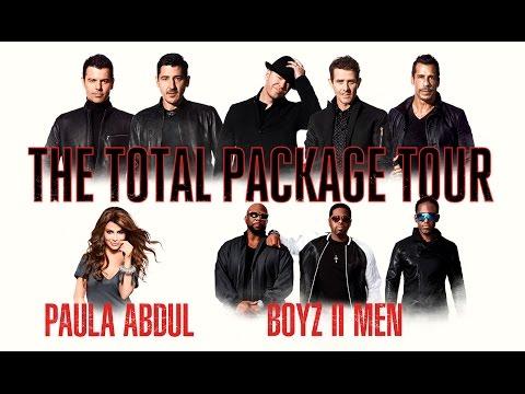 Nkotb Total Package Tour Setlist