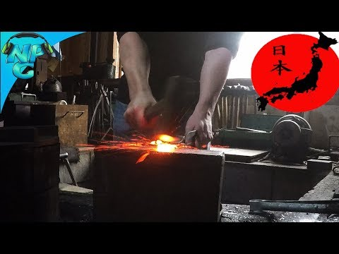 Forging my own Blade and a Surprise Proposal! - Nerd Parade Visits Japan!