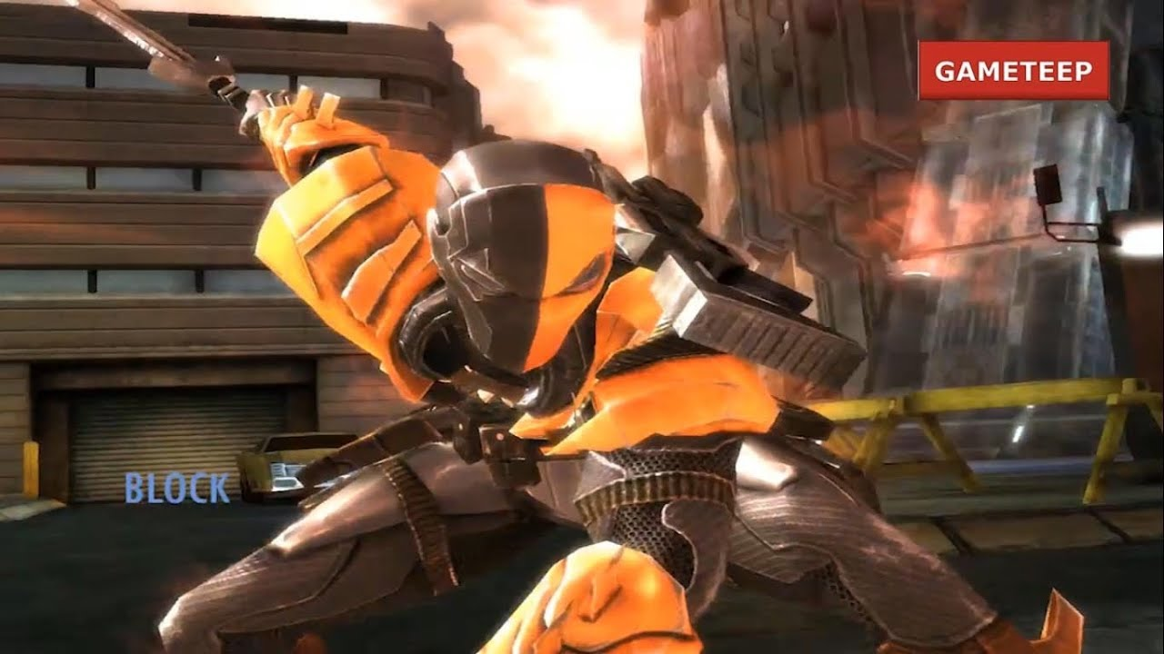 Injustice Deathstroke Super Attack Moves REMASTERED IPad