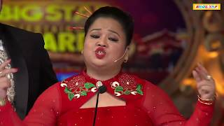 Bharti Singh & Manish Paul Best Comedy In Award Show With Salman Khan