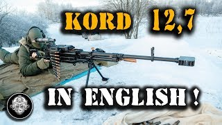 KORD! 12,7 MM LARGE CALIBER SNIPER MACHINE GUN! NO RESCUE FROM THIS SUPER CANNON ON BATTLEFIELD!