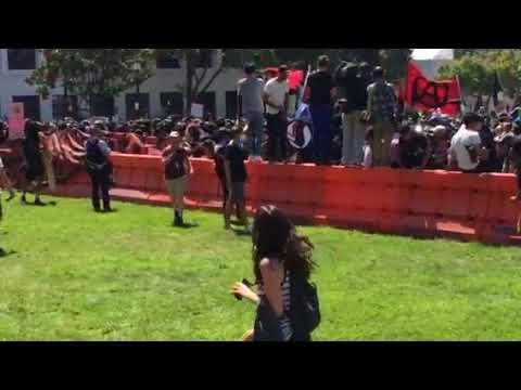 Black Bloc in downtown Berkeley