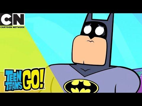 Teen Titans Go! | When Batman Wants to Relax | Cartoon Network