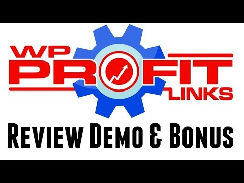 WP Profit Links Review Demo Bonus - Affiliate Commissions From Other People's Work