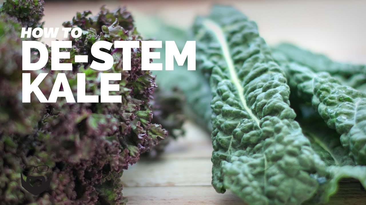 how to destem kale - Can I Freeze Kale