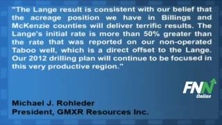 GMXR Resources Inc. Shares Rise After Well Completion